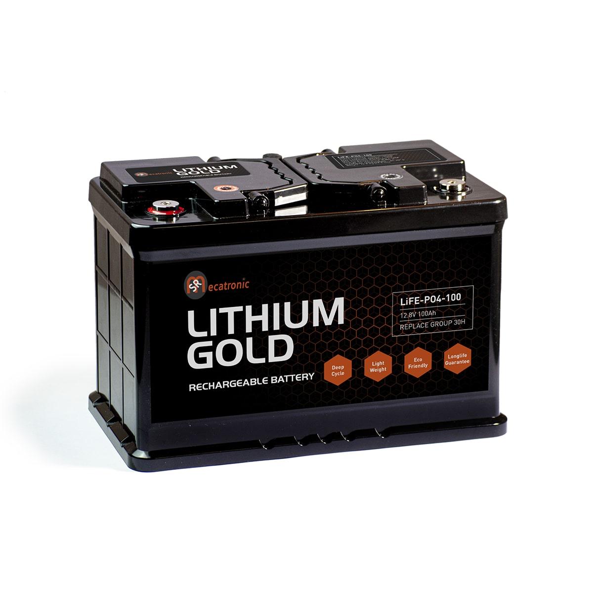 SR LITHIUM GOLD 100Ah